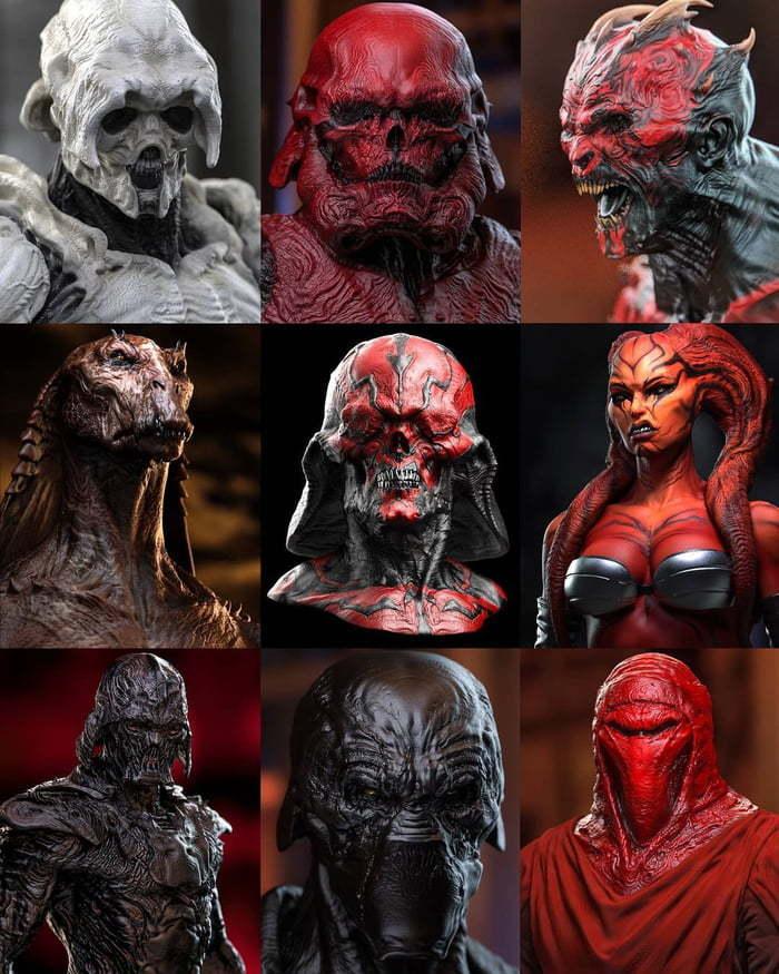 Если бы Звёздные войны были в мире игры Doom