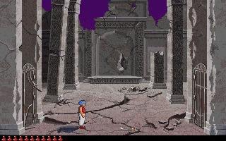 Prince of Persia 2: The Shadow and the Flame (1993) Принц Персии, Компьютерные игры, Игры для DOS, Dos, Dos Games, Длиннопост, Гифка