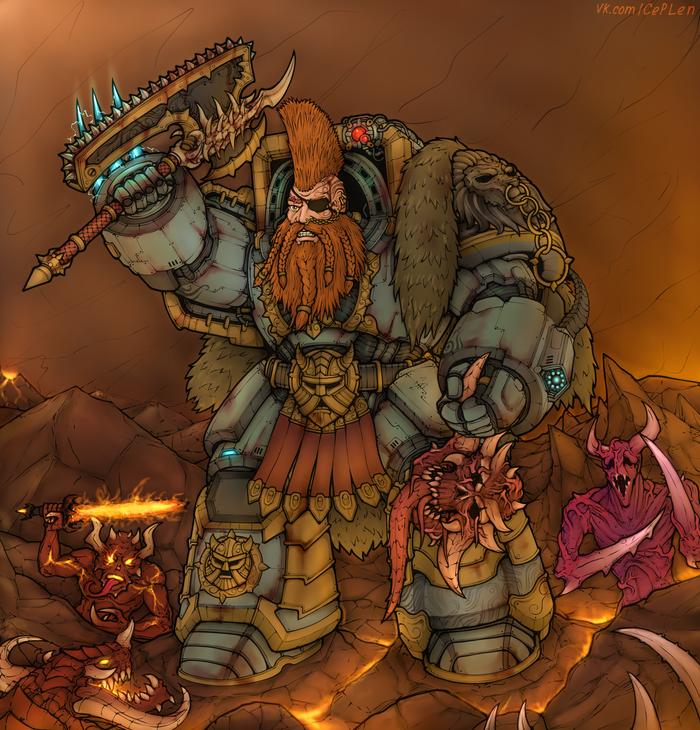 """Заказ """"Готрек в Warhammer 40k"""""""