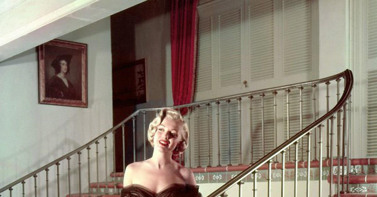 """Мэрилин Монро на фотографиях Джона Флореа (IV) Цикл """"Великолепная Мэрилин"""" 483 выпуск"""