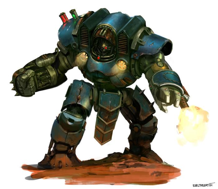 F.I.S.T. Servobot by George Earl Abalayan