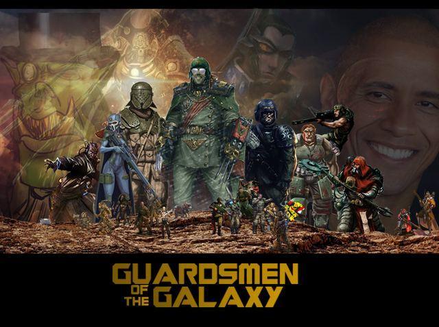 Стражи Галактики и w40k