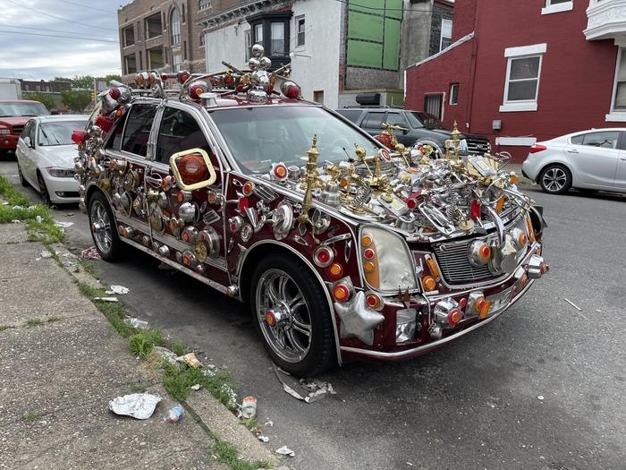 Неожиданная находка на улицах Филадельфии Тюнинг, Колхоз тюнинг, Авто, Suv, Филадельфия, Длиннопост