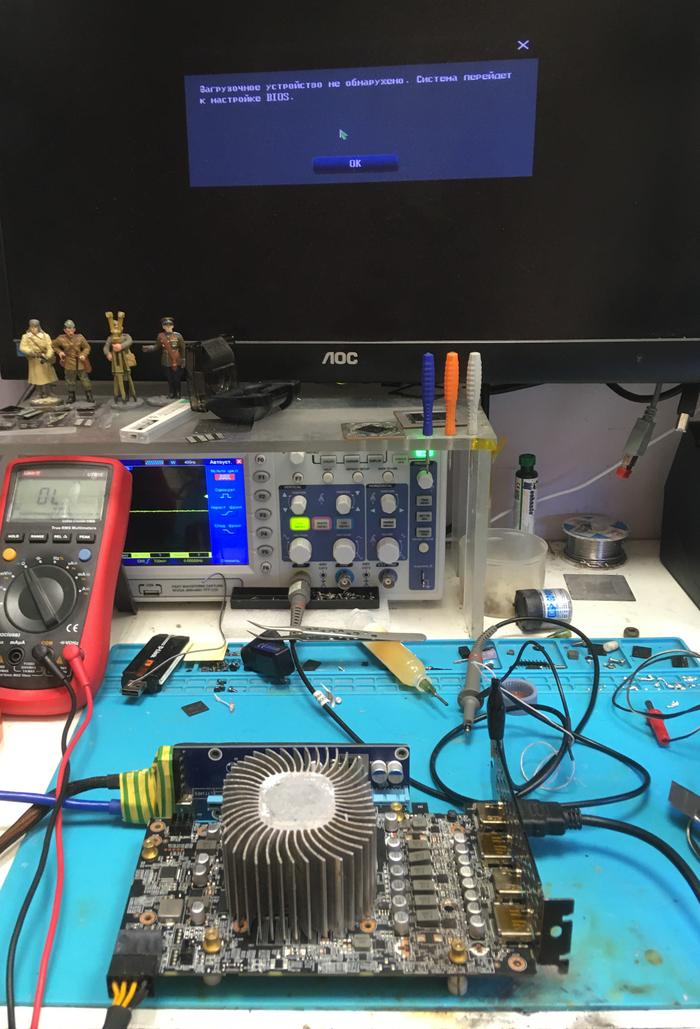Оживление RTX3060 со сквозным прогаром, задействование неактивных фаз на шим-контроллере NCP81610 Хобби, Ремонт электроники, Видеокарта, Ремонт компьютеров, Ремонт, Сообщество ремонтеров, Видео, Длиннопост