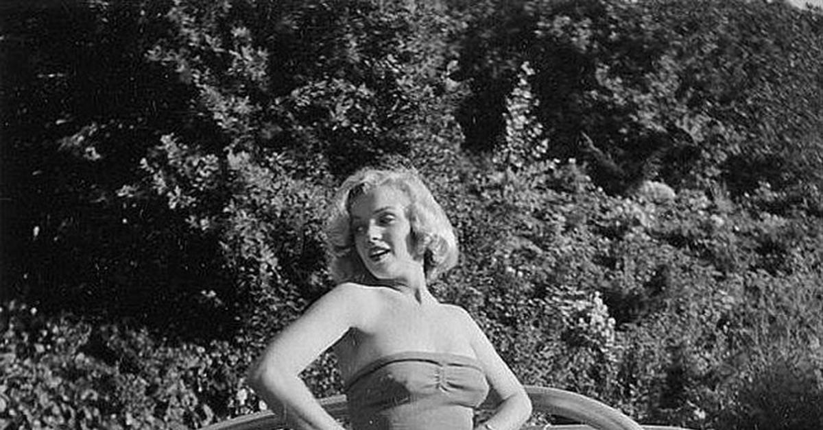 """Мэрилин Монро на фотографиях Джона Флореа (VII) Цикл """"Великолепная Мэрилин"""" 504 выпуск"""