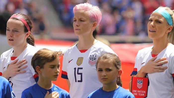 Женская сборная США по футболу бойкотирует забитые голы, пока не будет побежден расизм США, Женский футбол, Расизм, Fake News