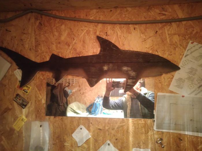 Акула Своими руками, Столярка, Интерьер, Дерево, Рукоделие без процесса, Длиннопост