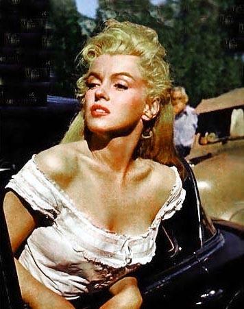 """Мэрилин Монро на фотографиях Джона Флореа (X) Цикл """"Великолепная Мэрилин"""" 539 выпуск"""