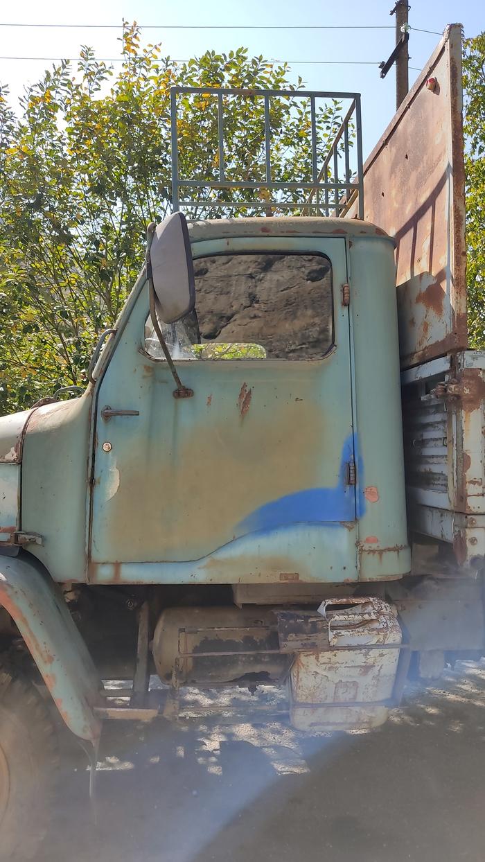 Praga V3S Грузовик, Ретроавтомобиль, Мобильная фотография, Длиннопост, Путешествие по России, Ретро, Авто