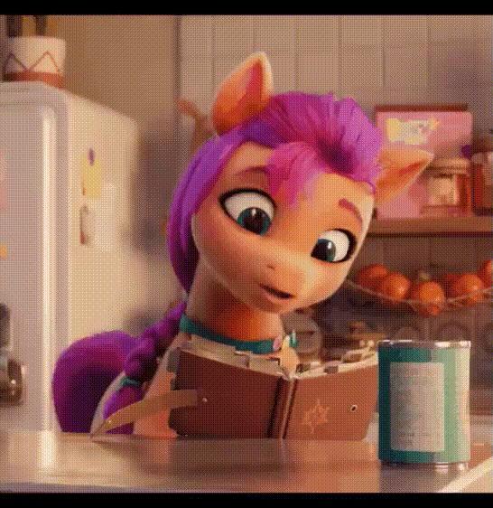 Ну что за няха :з My Little Pony, MLP g5, Гифка