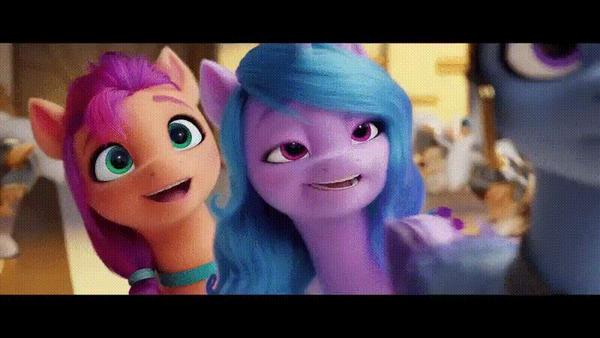 Санни и Иззи My Little Pony, MLP g5, Гифка
