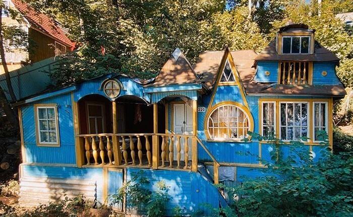 Старые деревянные дома и летние дачи Дача, Дом, Архитектура, Фотография, Длиннопост