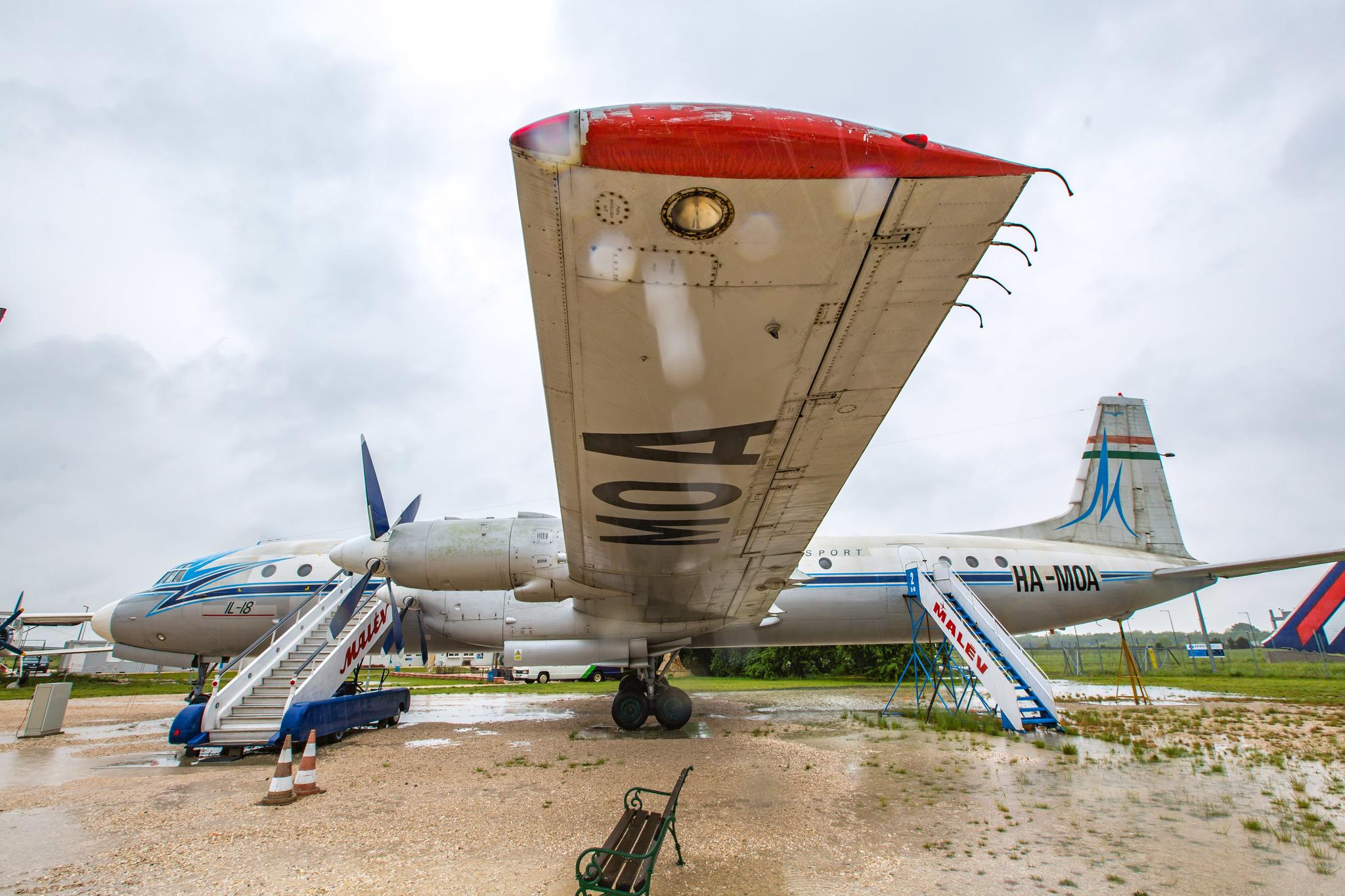 Музей советских самолётов в дебрях Евросоюза музея, музей, самолёт, передан, транспорта, техники, прибыл, аэропорту, Самолёт, музее, экспонат, «Аэропарк», служил, Ту134, музею, Второй, Ил18В, HAMOA, «Малеве», построен