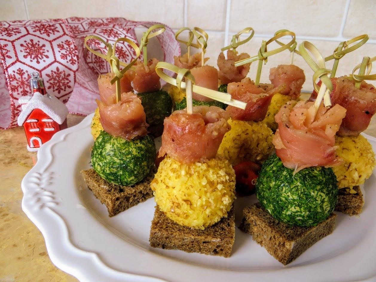 сырные шарики на праздничный стол