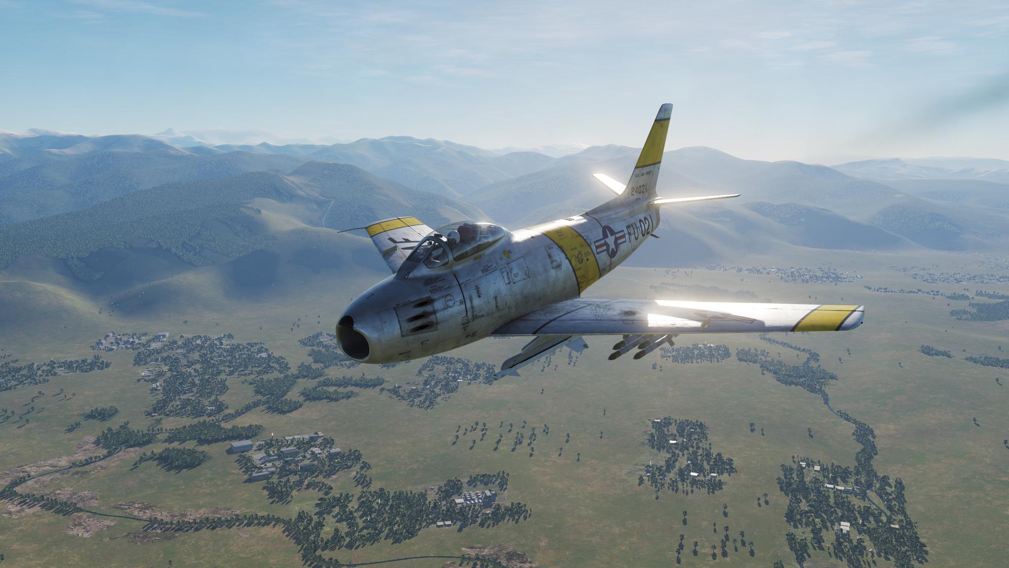 Обои F-86 Sabre, Самолёт. Авиация foto 2