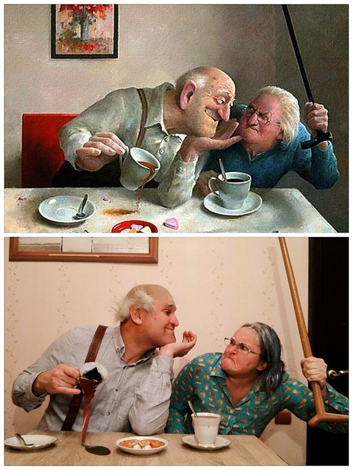 Веселые старики | Пикабу
