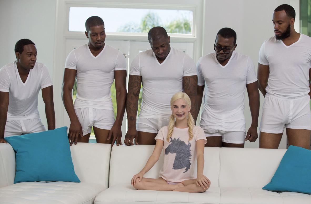 Порно 5 Негров И 1 Девочка