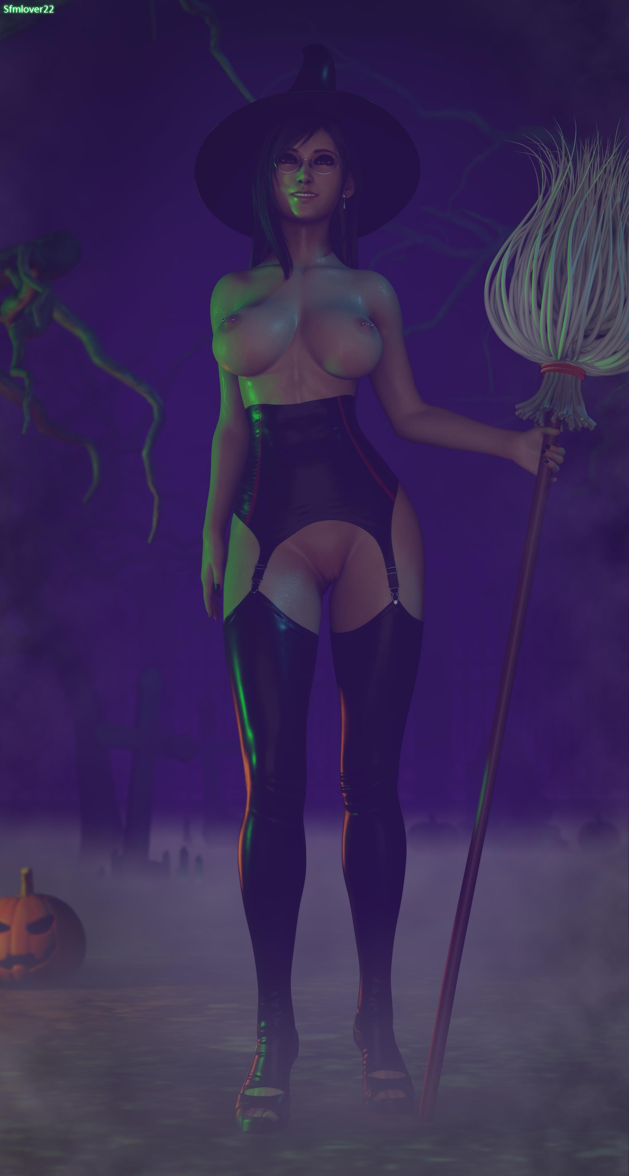 Tifa Lockhart witch